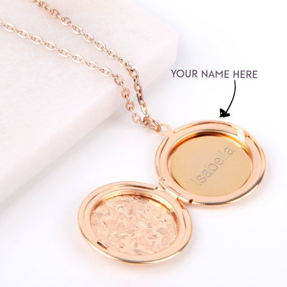 27 mm Jewels Obsession Handcut Engraveable Plate Pendant 14K Rose Gold Handcut Engraveable Plate Pendant
