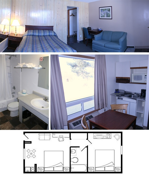 Sudbury Suites at the Moonlight Inn and Suites. The one and only value & comfort accommodation in Sudbury.