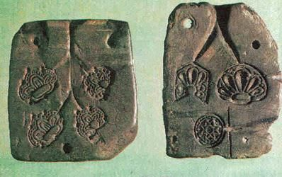 molds for casting pewter or silver, Kievan Rus 11th or 12th century