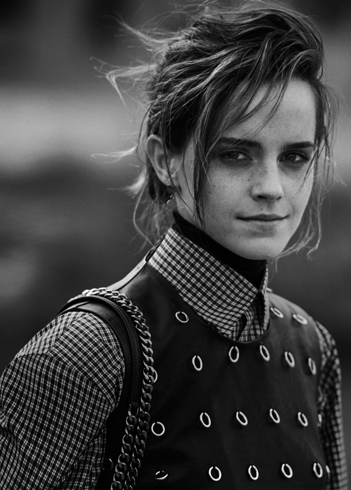 Emma Watson by Peter Lindbergh for Interview Magazine May 2017