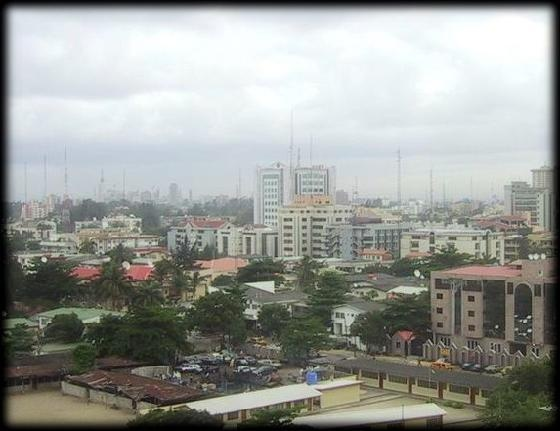 Victoria Island Lagos Nigeria. My mother n law lives here.