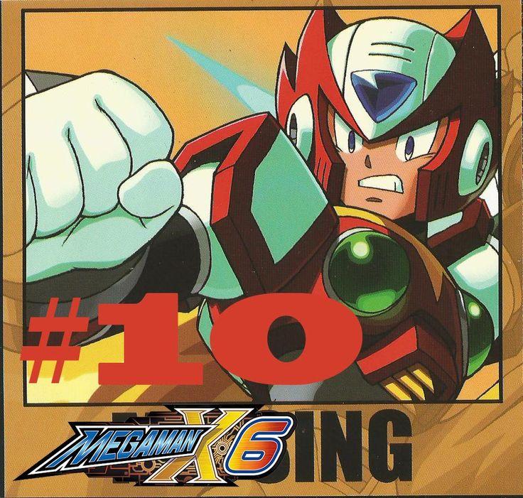 Megaman x6 zero only 10 comic book cover comic books