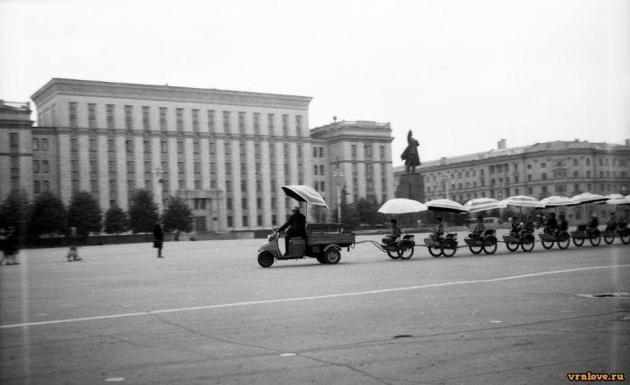 Воронеж, Площадь Ленина, 1971 год.