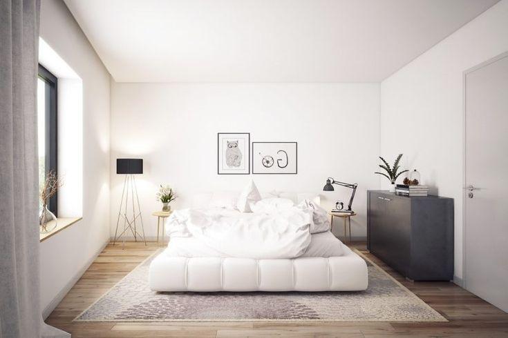 schlafzimmer design einrichtungsideen helle farben skandinavischer ...