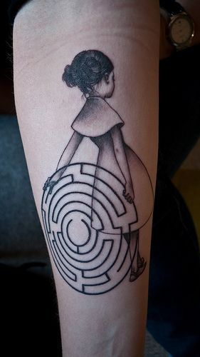 James Jean tattoo.