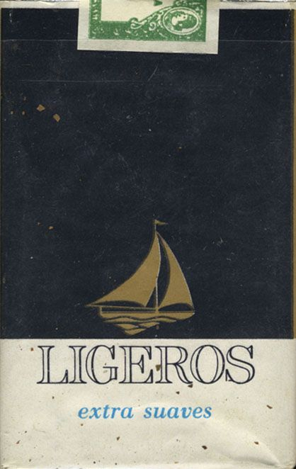 Ligeros Extra Suaves - Sold in Cuba 1980's