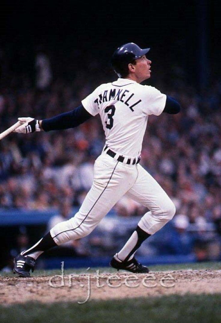Alan Trammell - Detroit Tigers
