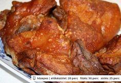 Ropogós-omlós sült sertéscsülök