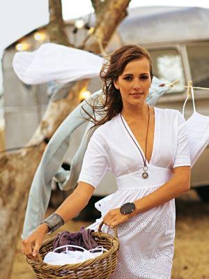 Schnittmuster: Tunika-Kleid - tiefer V-Ausschnitt - Tuniken - Blusen & Tuniken - Damen - burda style
