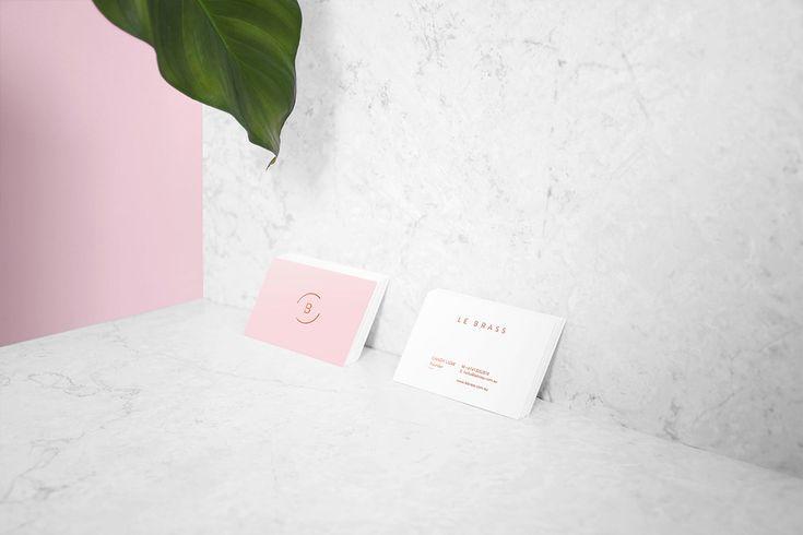Le Brass Homewares: Sleek Identity by Tatabi Studio   Inspiration Grid   Design Inspiration