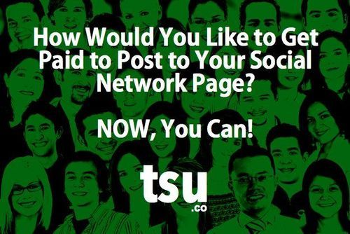 #TSU Is The First Social Network That Pays Users For Content   https://www.tsu.co/tomcatino716