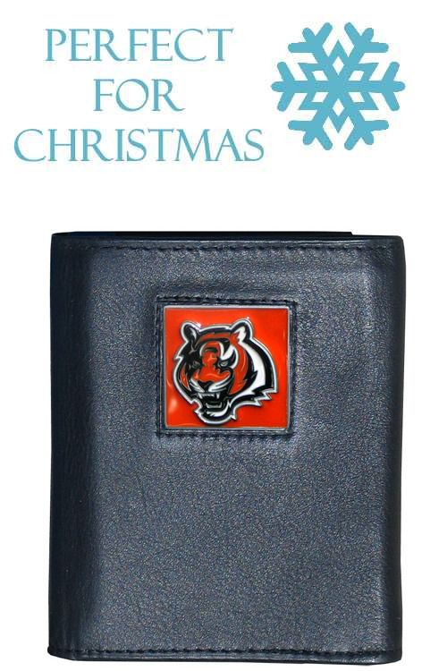 Discount Cincinnati Bengals NFL Trifold Wallet | Cincinnati Bengals  for cheap