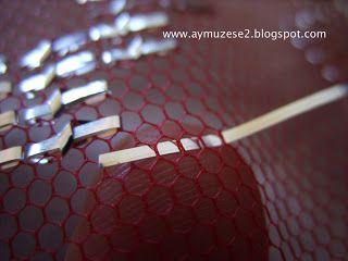 Aymuzese: Fotoğraflarla tel kırma yapılışı 1. aşama