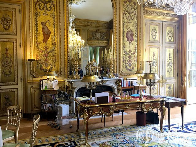 Bureau Du Pr 233 Sident Palais De L Elys 233 E Paris Avec