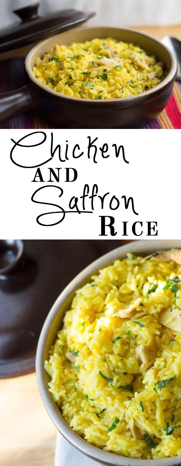 Chicken Saffron Rice