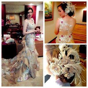 Wedding dress by ivan gunawan
