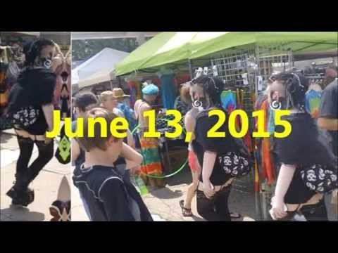 Yellow Springs, Ohio STREET FAIR 6-13-15 - YouTube