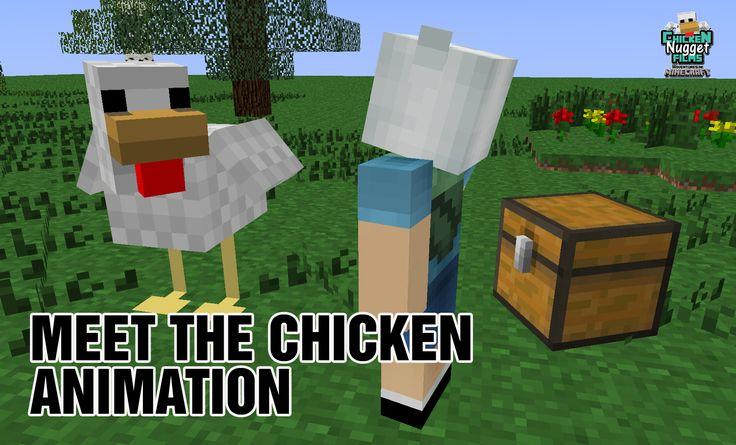 Minecraft Animation Chicken