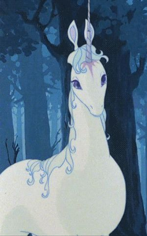 Amalthea!!! The Last Unicorn by Peter S. Beagle.... My absolute favorite movie as a child.
