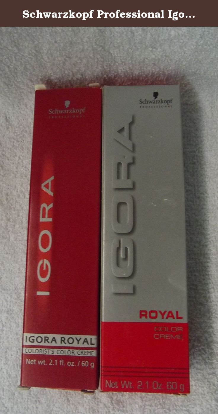 Schwarzkopf color ultimate online kaufen - Schwarzkopf Professional Igora Royal Permanent Creme Hair Color 0 55 Buy Schwarzkopf Professional Hair