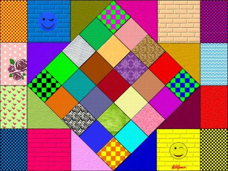 Solve diamond and so jigsaw puzzle online with 252 pieces