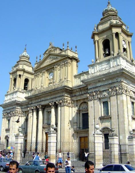 """Catedral Metropolitana, Guatemala. 1782-1815"