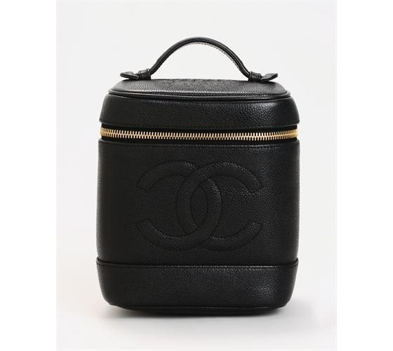 Chanel Caviar Genuine Leather Cosmetic Bag $660.00