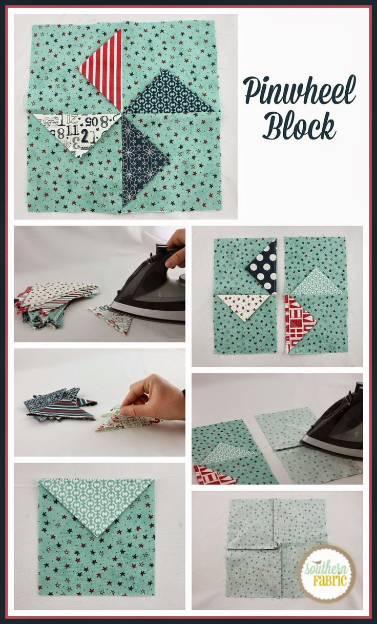Simple Pinwheel Block Tutorial