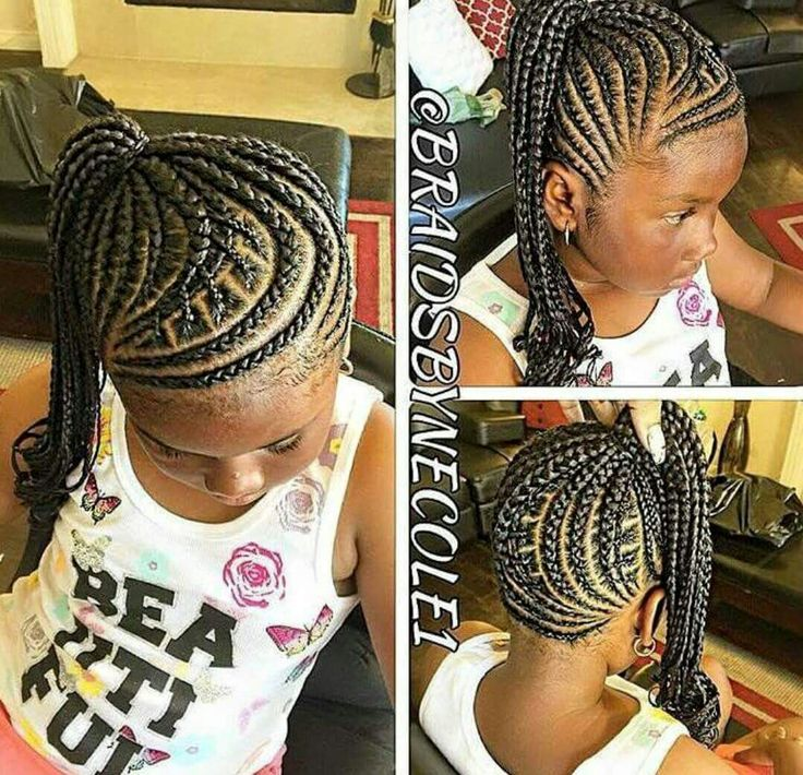 Magnificent 1000 Ideas About Kids Braided Hairstyles On Pinterest Kid Hairstyles For Women Draintrainus