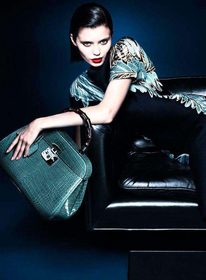 Осенняя кампания Gucci c Эбби Ли Кершоу (фото 6)