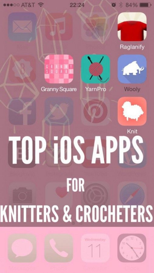 @NYAcrochet shared the Top 5 iOS apps for #knitting and #crochet