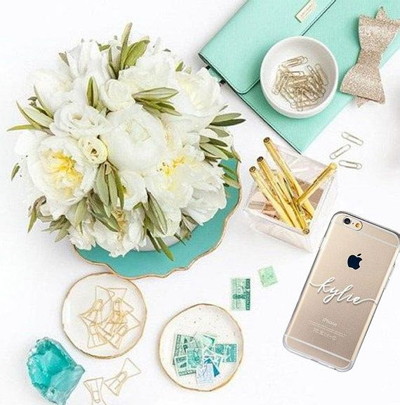 Personalized silicone iPhone case #iPhone #silicone #case #transparent #personalized