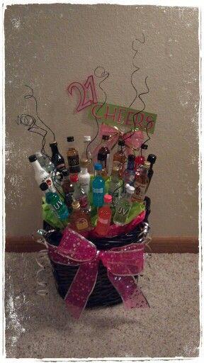 21st Birthday bouquet