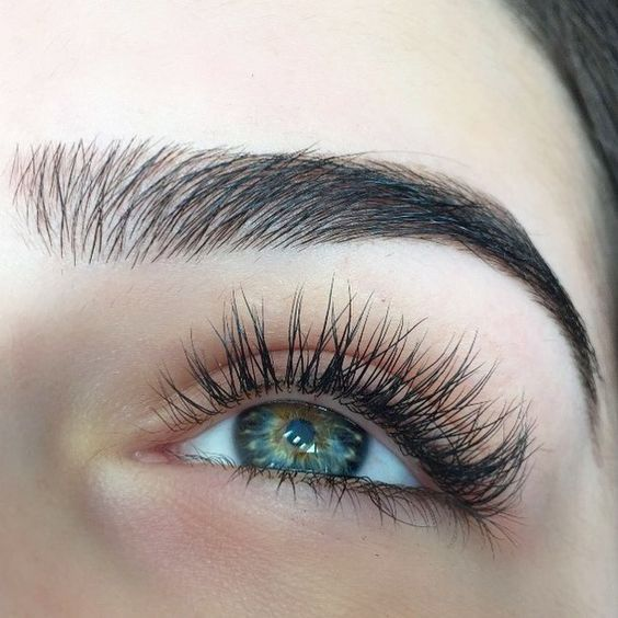 Brow & lash perfection.
