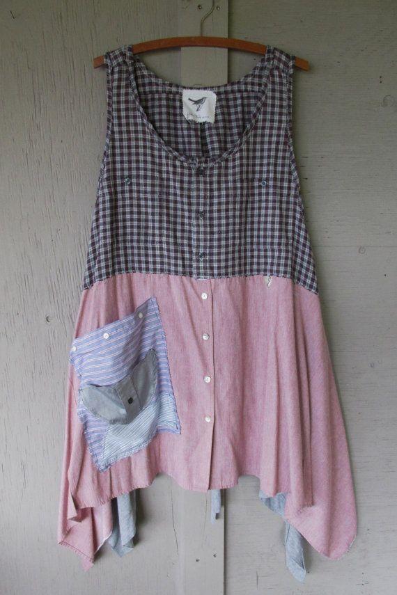 Refashion dress to tunic dress
