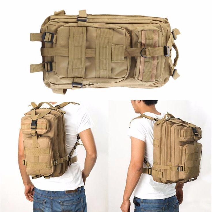 5 Color Breathable Mesh Backing Unisex 600D Nylon30L Military Tactical Backpack Molle Rucksacks Camping Hiking Trekking Bag