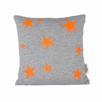 Ferm Living - Pude - Star Cushion neon, 30 x 30 cm