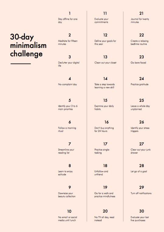 30 Dias De Resoluções