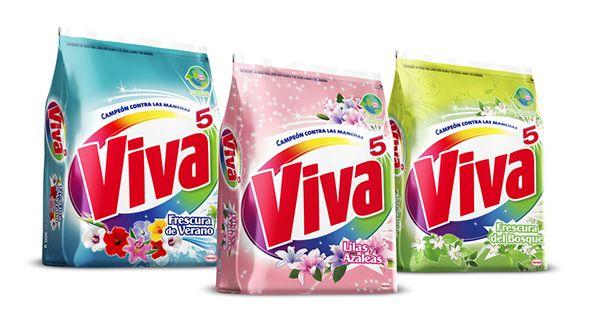 Viva Detergent Line Extensions on Behance