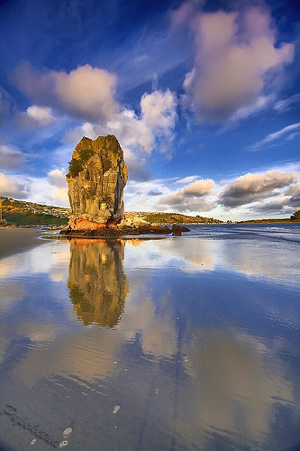 Reflection @ Shag Rock, via Flickr.