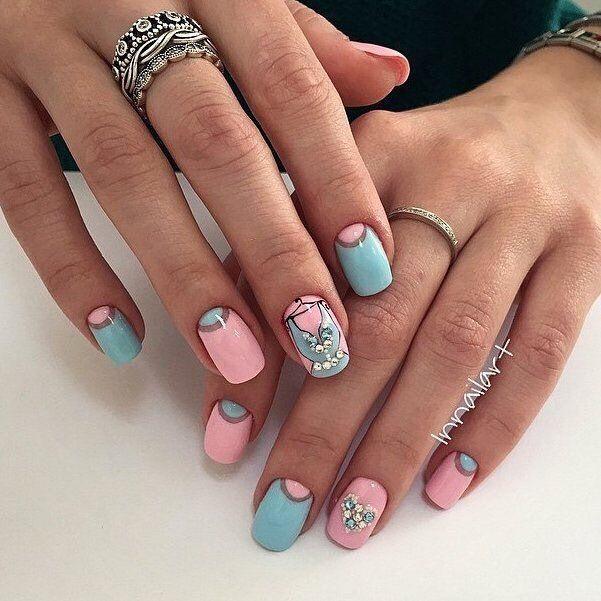 Beautiful delicate nails, Drawings on nails, Elegant nails, Fashion nails 2016…