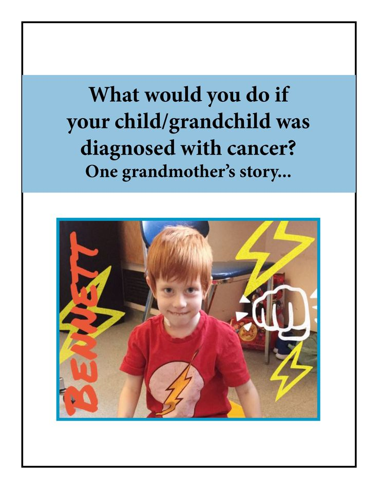 What one grandma did when her grandson was diagnosed with cancer...