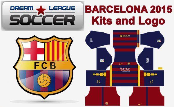 Dream League Soccer Kits Barcelona 2015 2016 With Logo Url Soccer Kits Soccer Logo Barcelona Futbol Club