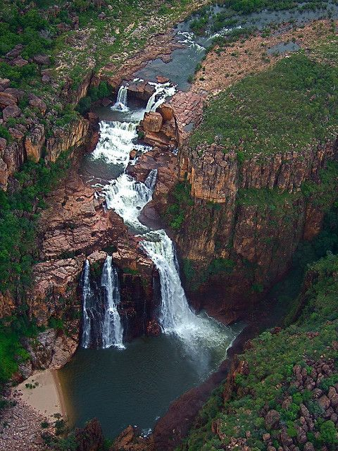Twin Falls, Kakadu National Park, Northern Territories, Australia  Romans 1:20 For since the creation of the world God's invisible qualities--his eternal power and divine nature--have been clearly seen, being understood from what has been made, so that people are without excuse.