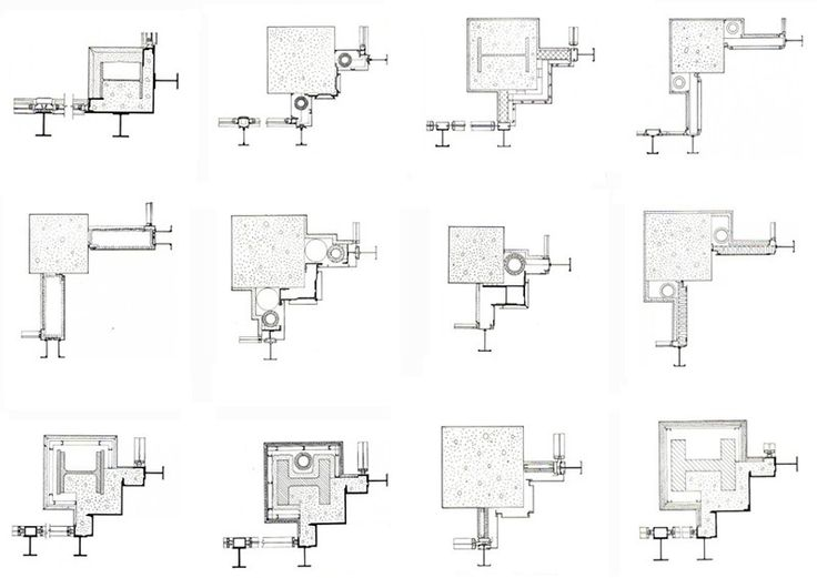 Corners Solutions of Mies Van Der Rohe;s towers (John Winter, 1972)