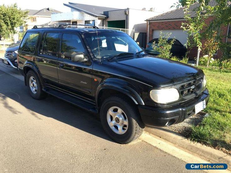 1999 Ford Explorer Limited 1999 UQ Auto 4x4 #ford #explorer #forsale #australia