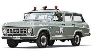 Chevrolet Veraneio 1988: utilitário exigia perícia do motorista nas perseguições | Crédito: Marco de Bari