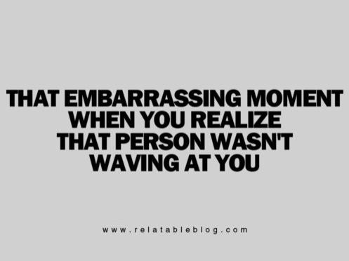 Hate it when that happens....