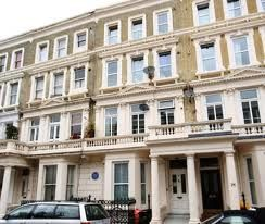 When Mahatma Gandhi was a law student, he lived at 20 Baron's Court Road. He'd often scout around his neighborhood in search of vegetarian food.  On 4 September 1888, Gandhi travelled to London, England, to study law at University College London and to get trained as a barrister.