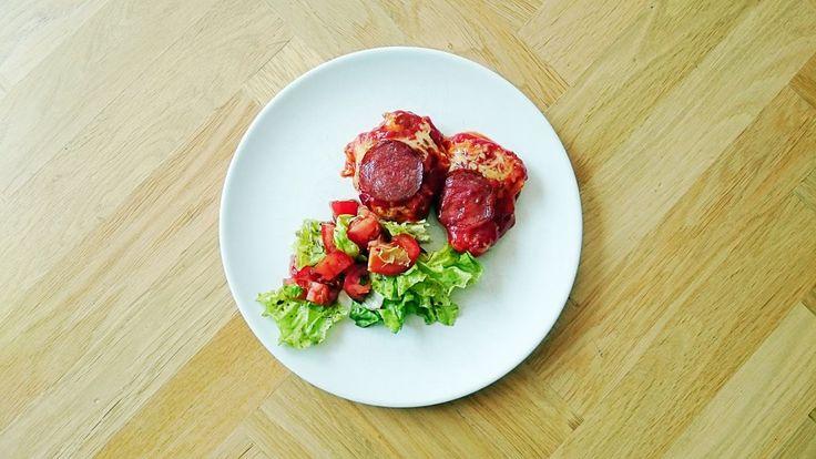 Kurczak jak pizza - Jest Pięknie